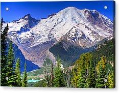 Mount Rainier IIi Acrylic Print