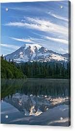 Mount Rainier Reflections Acrylic Print