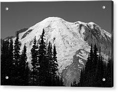 Mount Rainier Acrylic Print by Sonja Anderson