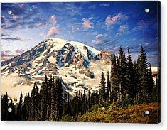 Mount Ranier Acrylic Print