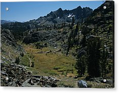 Mount Ritter And Meadow Acrylic Print