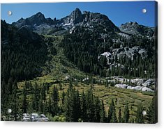 Mount Ritter Shadow Creek And Granite Rocks Acrylic Print