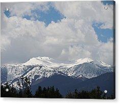 Mount Rose Reno Nevada Acrylic Print