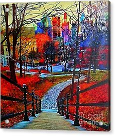 Mount Royal Peel's Exit Acrylic Print