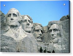 Mount Rushmore Acrylic Print by American School