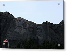 Mount Rushmore Acrylic Print by George Jones