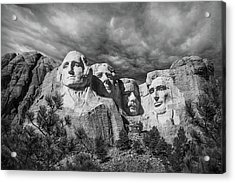 Mount Rushmore II Acrylic Print by Tom Mc Nemar