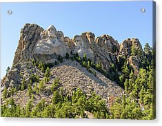 Mount Rushmore With Sunlight 2 Acrylic Print