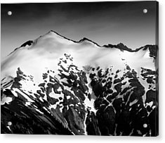 Mount Ruth In The Washington Cascade Mountains Acrylic Print by Brendan Reals