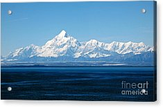 Mount Saint Elias. Yakutat Bay Seascapes Acrylic Print