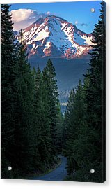 Mount Shasta - A Roadside View Acrylic Print