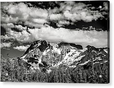Acrylic Print featuring the photograph Mount Shuksan Under Clouds by Jon Glaser