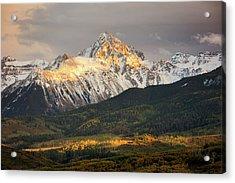 Mount Sneffels Sunset Acrylic Print
