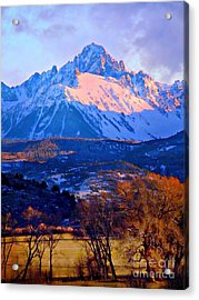 Mount Sneffels  Acrylic Print by Annie Gibbons