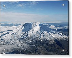 Mount St. Helens 0005 Acrylic Print by David Mosby