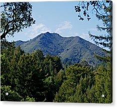 Mount Tamalpais Acrylic Print
