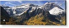 Mount Timpanogos Acrylic Print