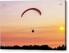 Mount Tom Parachute Acrylic Print