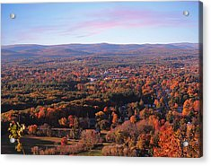 Mount Tom View, Easthampton, Ma Acrylic Print
