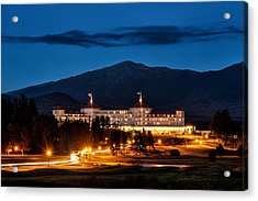 Mount Washington Hotel 9068 Acrylic Print by Dan Beauvais
