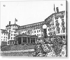 Mount Washington Hotel Number Four Acrylic Print