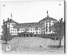Mount Washington Hotel Number Three Acrylic Print