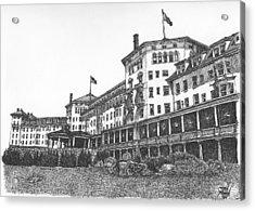 Mount Washington Hotel Number Two Acrylic Print