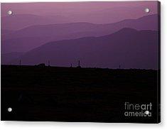 Mount Washington New Hampshire - Auto Road Acrylic Print by Erin Paul Donovan