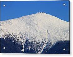 Mount Washington Summit And Weather Observatory Acrylic Print