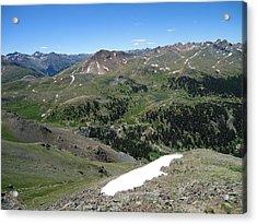 Colorado Mountain 10 Acrylic Print by Bruce Miller