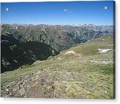 Colorado Mountain 11 Acrylic Print by Bruce Miller
