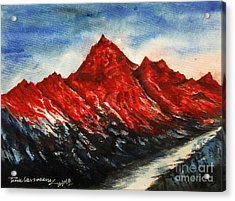 Mountain-7 Acrylic Print