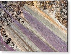 Mountain Abstract 6 Acrylic Print by Hitendra SINKAR