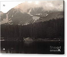 Acrylic Print featuring the photograph Mountain Anglers by Thomas Bomstad
