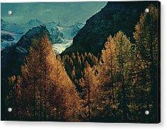 Mountain Autumn Acrylic Print