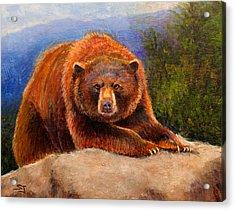 Mountain Bear Acrylic Print