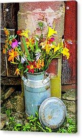 Mountain Bouquet Acrylic Print