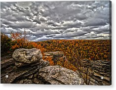 Mountain Colors Acrylic Print