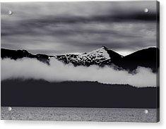Mountain Contrast Acrylic Print