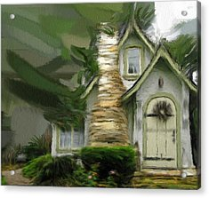 Mountain Cottage 6 Acrylic Print by Phil Ward