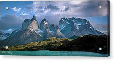 Acrylic Print featuring the photograph Mountain Dream by Andrew Matwijec
