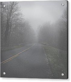Acrylic Print featuring the photograph Mountain Fog by Joseph G Holland