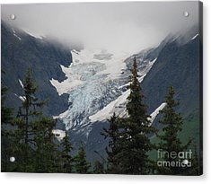 Mountain Glacier Acrylic Print