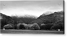 Acrylic Print featuring the photograph Mountain Grandeur by Odille Esmonde-Morgan