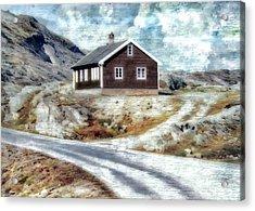 Mountain Home Acrylic Print