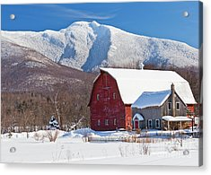 Mountain Homestead Acrylic Print