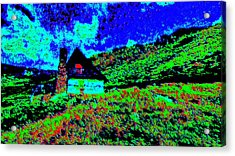 Mountain House Dd3 Acrylic Print by Modified Image