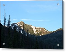 Mountain In Rocky Mountian Np Co Acrylic Print