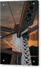 Mountain Iron Acrylic Print by Melvin Kearney