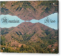 Mountain Kiss  Acrylic Print